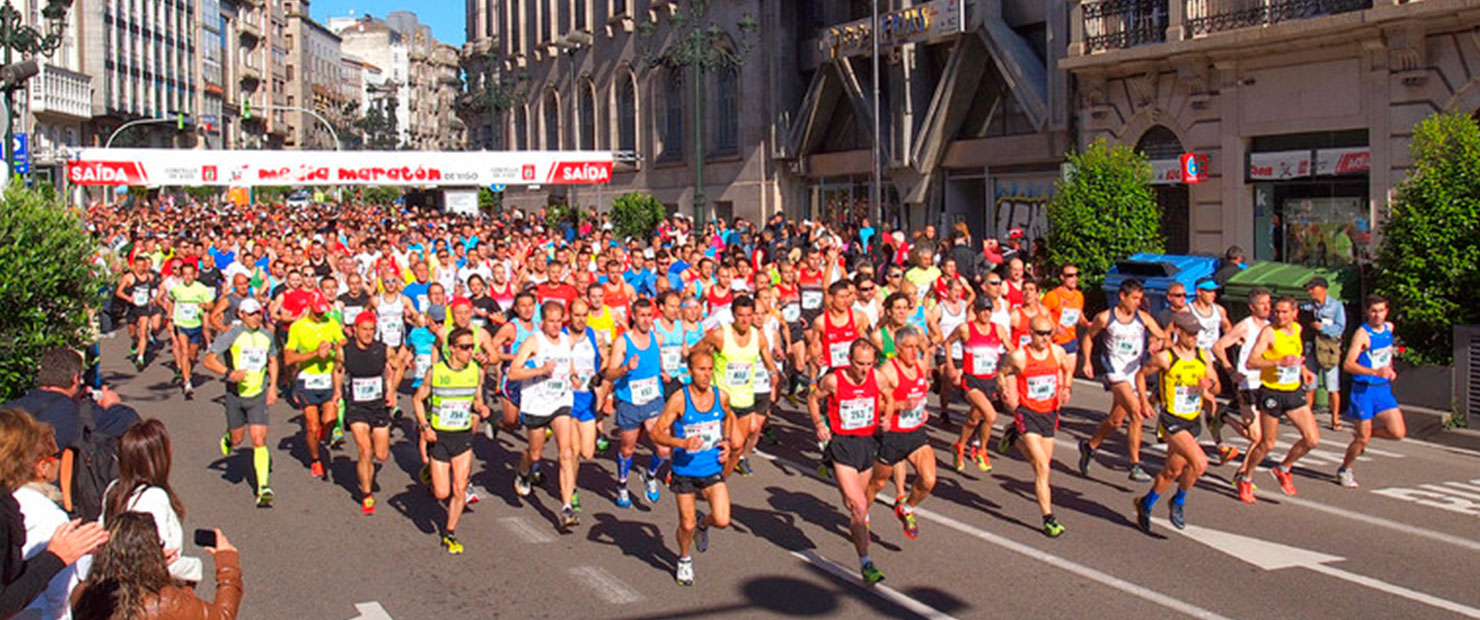 media maraton vigo