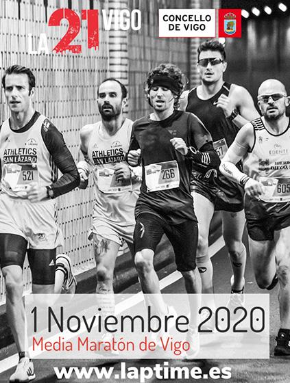 Cartel media maraton Vigo