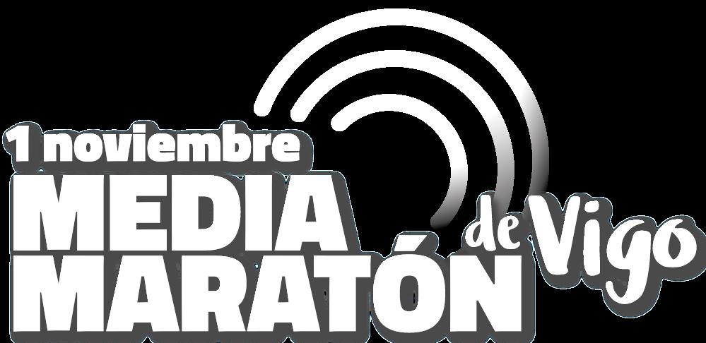 Logotipo Media Maratón de Vigo 2020