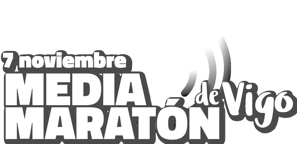 Logotipo Media Maratón de Vigo 2021